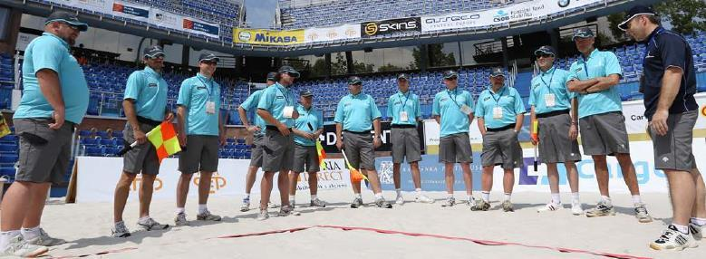 FIVB Referees 9 NORCECA Local Referees