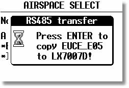 1. PC communication is not available by LX 7007 Compact To prepare custom airspace, in.cub format, use our special tool for airspace creation and edit, called LxAsbrowser, available for free on www.