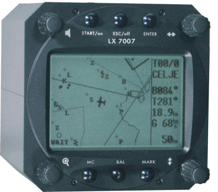 information being controlled from the LX7000DU.