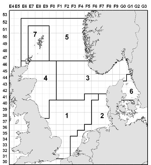 ICES Advice on fishing opportunities, catch and effort Published 22 February 2016 Figure 6.3.39.2 Sandeel in the North Sea (SA 3).