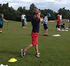 OCTOBER HALF TERM ACTIVITIES Junior Golf Camp 4 Day Course only 79 or 25 per day.
