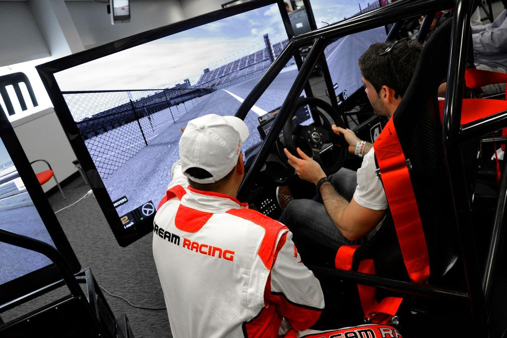Simulator Powered by iracing, our state-of-the-art