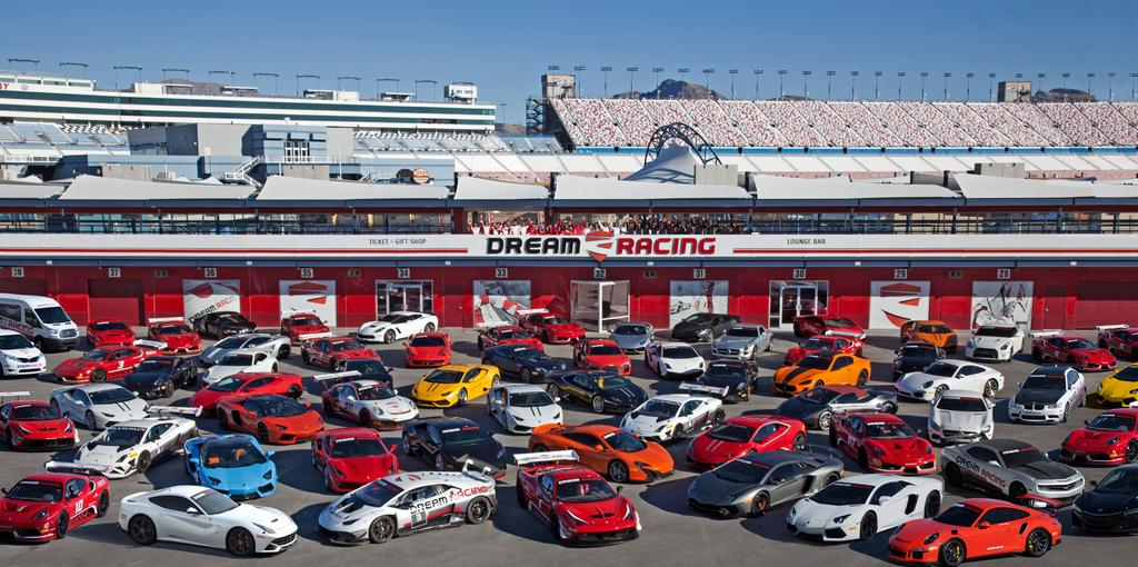 The largest selection Dream Racing features the world s largest and fastest selection of Supercars and is the