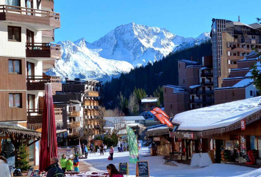 Skiing holidays for everyone The Resort La Tania lies at 1400m in the Three Valleys in France.