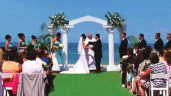 Imagine the beachfront wedding of your dreams and