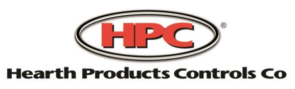 For use with select HPC Fire Pits ONLY- refer to product catalog or website.
