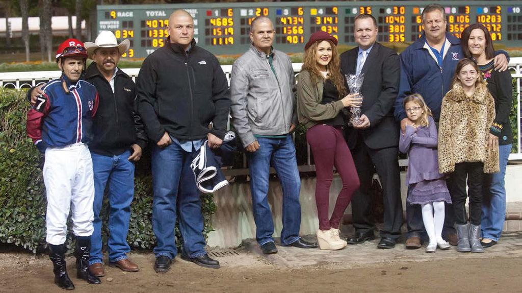 SCOTT MARTINEZ The winning connections Boy, who is owned by Lorena Velazquez Rodriguez, has earned the year s first berth to the Champion of Champions (G1), and with it a rest.