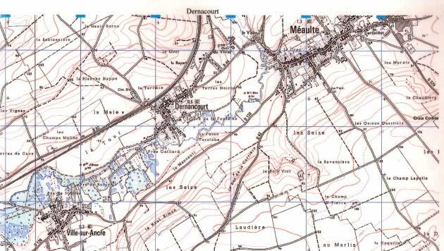 The Dernancourt area The Battle On the 28 th March the day Gough was relieved- the 4 th Australian Division under the command of Maj Gen Ewen Sinclair-MacLagan had moved into the battle area north of