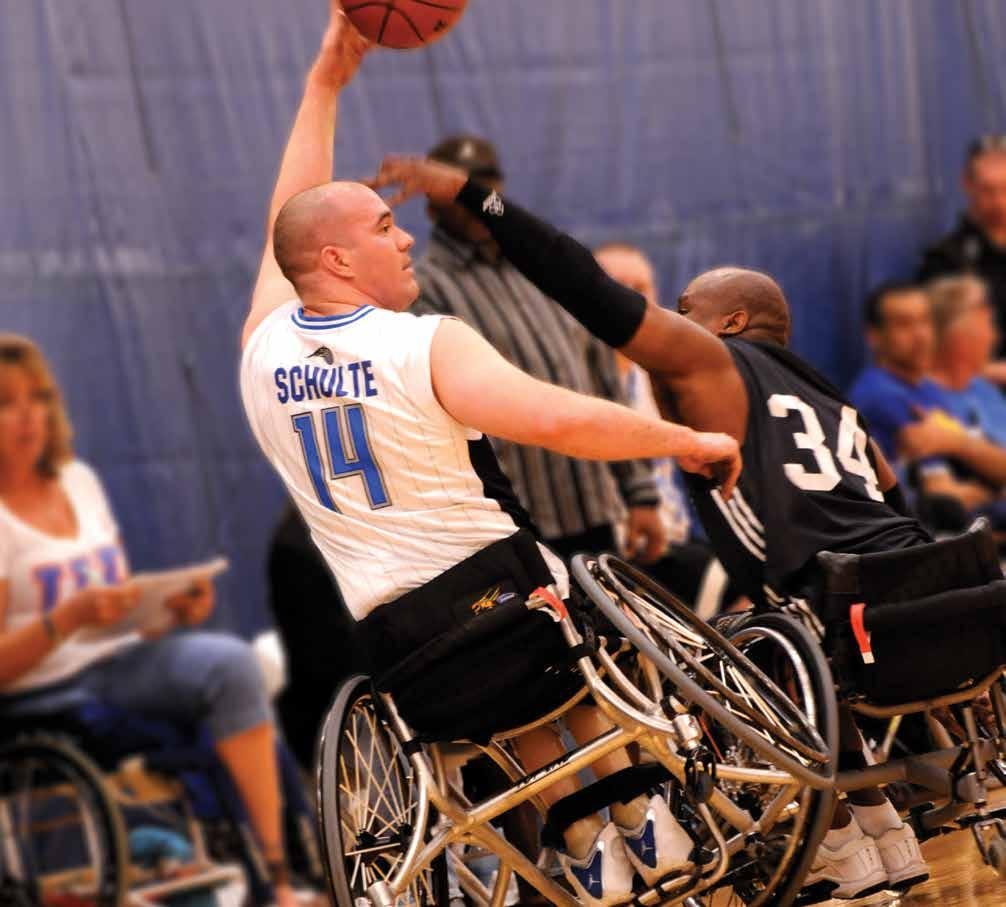 INVACARE TOP END SCHULTE 7000 SERIES BASKETBALL WHEELCHAIR The Invacare
