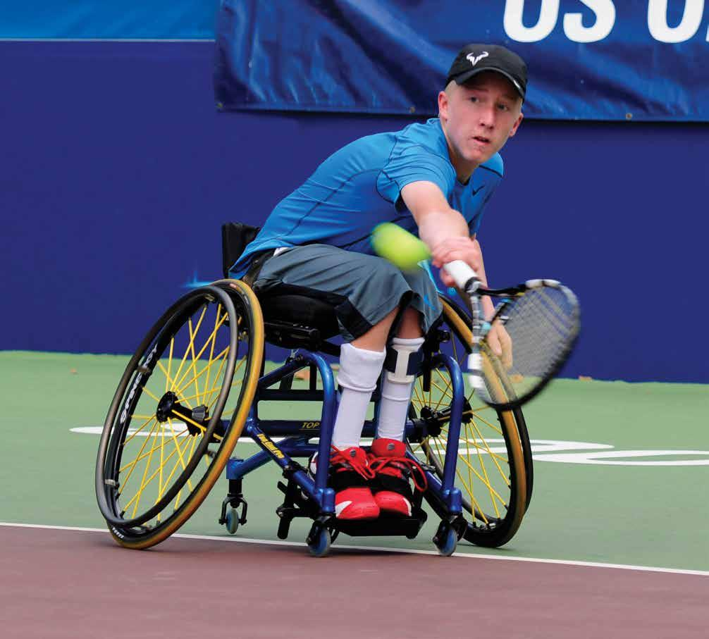 INVACARE TOP END PRO TENNIS WHEELCHAIR For new players, adjustability is key.