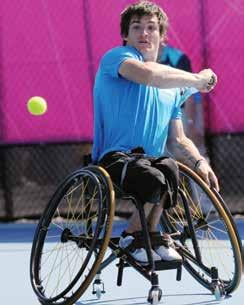 Plus, the Invacare Top End Pro Tennis Wheelchair is available in two frame