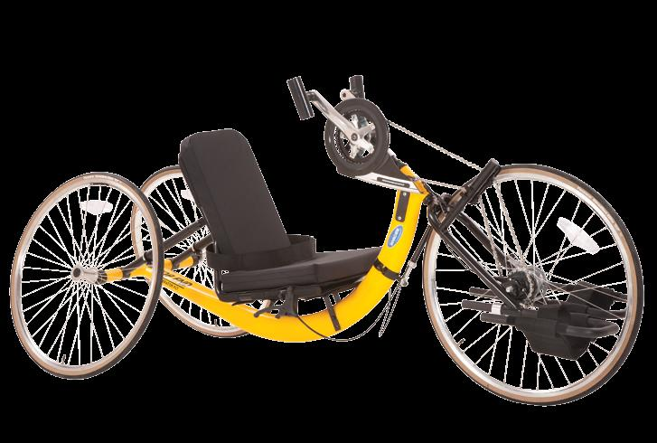 If you want a great way to exercise, cross-train or just have fun, choose the XLT handcycle. Model #: XLT 1 2 1. Twist Shifter 2.