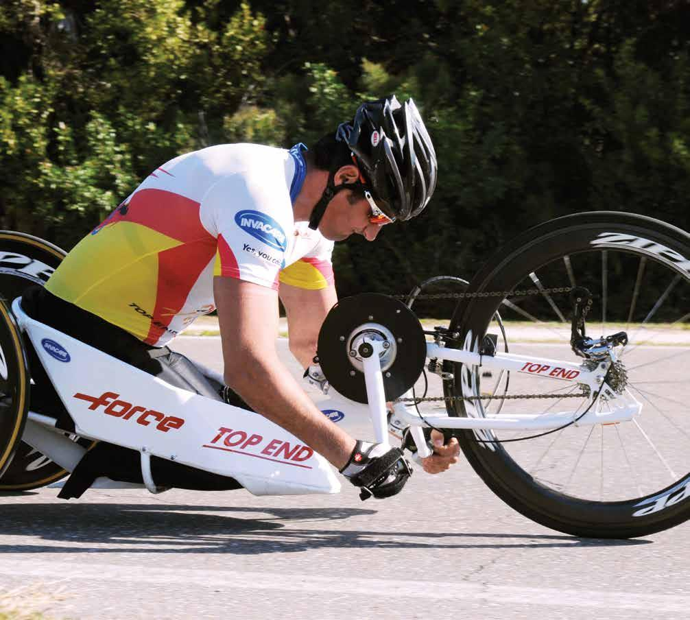 INVACARE TOP END FORCE K HANDCYCLE The Invacare Top End Force K Handcycle is a kneeling position handcycle available in two custom,