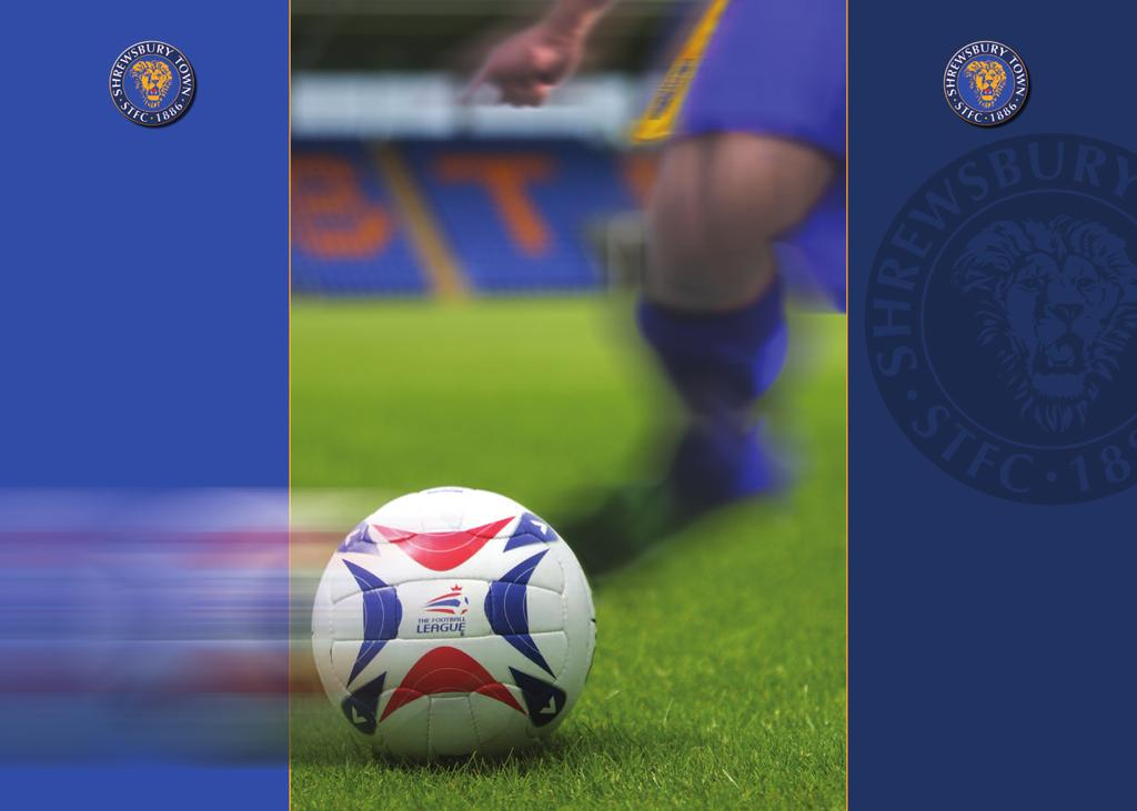 play on the pitch Have you ever wanted to grace the pitch where Shrewsbury Town heroes play and fulfil a lifelong ambition?