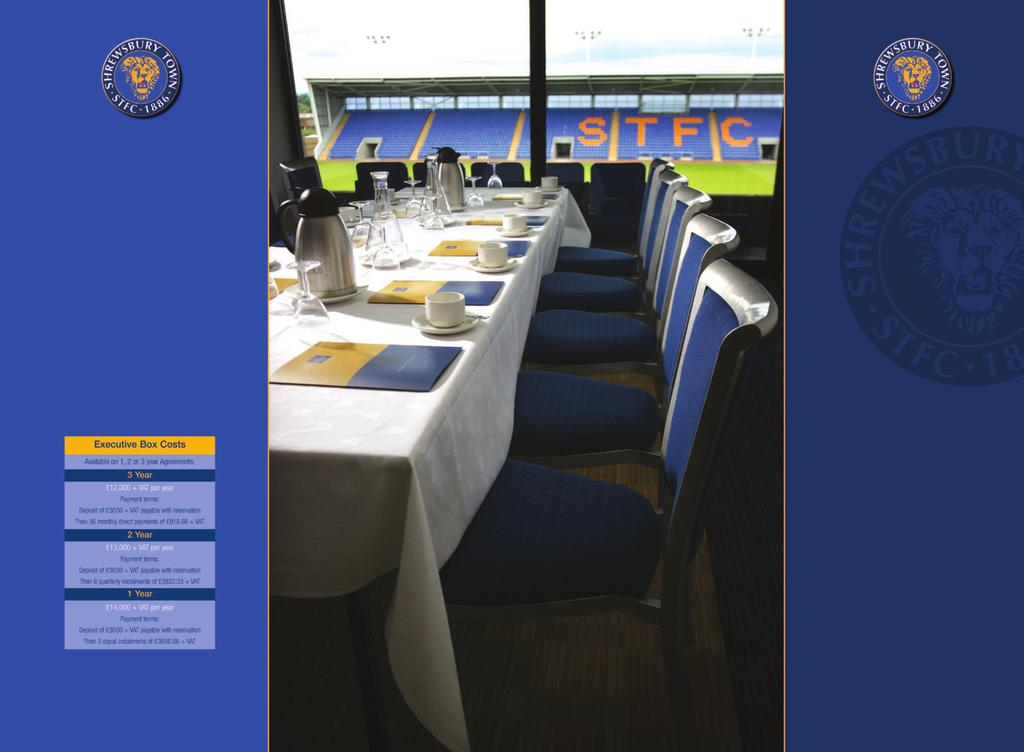 premier dining It s probably no surprise that, to complement the stunning hospitality facilities of our stadium, five star dining is available throughout the