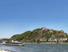 Day 5: Bingen Koblenz 63 km The romantic Middle Rhine valley is one of the highlights of the trip. You reach Bacharach and pass the legendary Loreley.