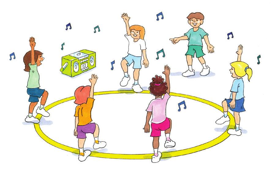 DANCE Detective To develop spatial awareness and movement skills in a dance activity. Music. As a group. Players stand in a circle, with one player allocated the detective and another as the spy.