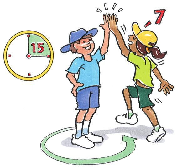 RUN Hand Slaps To practise running and changing direction. Pairs. One player stands with one hand raised.