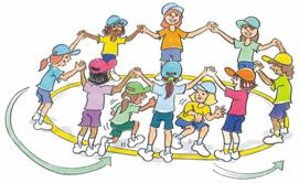 RUN Cat and Mouse To practise running and change of direction in a dynamic activity. As a group. Players join hands to make a circle.