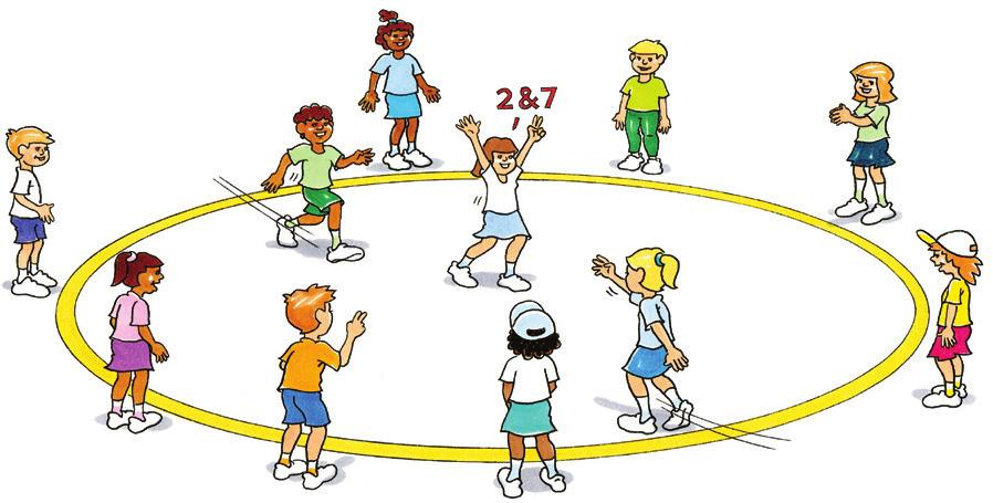 RUN Number Exchange To develop running and changing direction skills in a confined space. As a group. Stand ten players in a circle and number them 1 to 10.