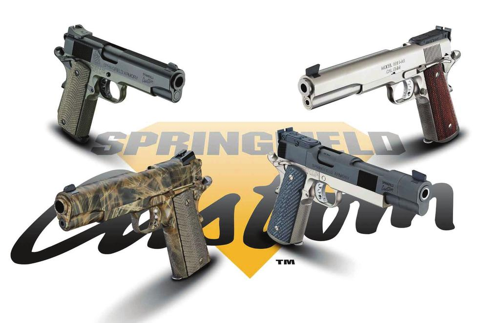 The Springfield Armory Custom Shop is a full service custom shop that can personalize