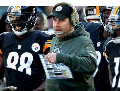2016 STAFF MEDIA INFORMATION TODD HALEY FOOTBALL STAFF 2016 PLAYERS TODD HALEY 2015 IN REVIEW STEELERS HISTORY RECORDS Following the club s highest win total since 2005, Haley was named the 101 AFC