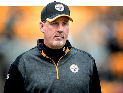 2016 STAFF KEITH BUTLER MEDIA INFORMATION KEITH BUTLER 2016 PLAYERS 2015 IN REVIEW STEELERS HISTORY FOOTBALL STAFF RECORDS Butler s guidance helped Harrison become one of the league s most elite