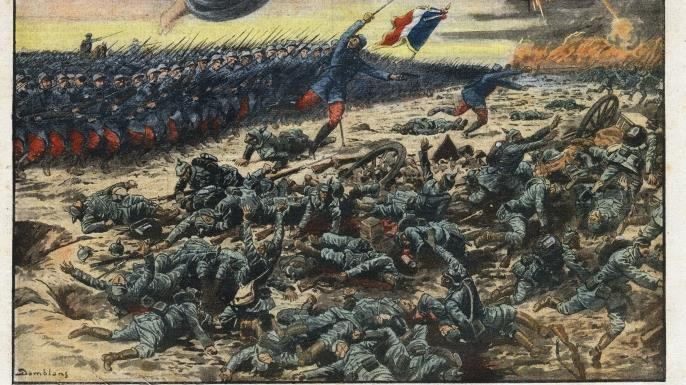 Slide 28 French Depiction of the Marne Battle An example of fake news in 1914?