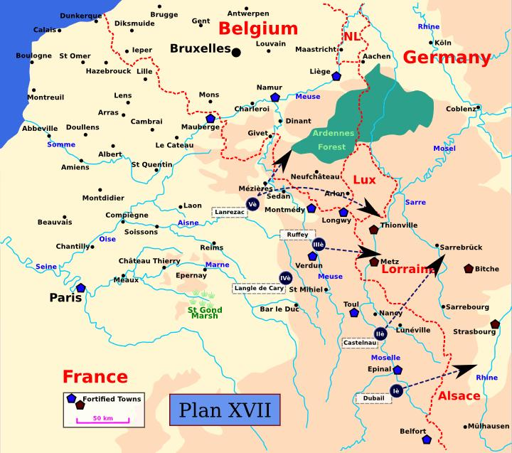 Slide 5 French Strategic Planning Summary for 1914 In the period between 1870 (when France lost a war against Prussia) and August 1914, the French General Staff had devised some seventeen different