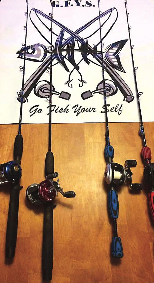 TECHNOLOGY RULES Trends in ice fishing rod technology have changed through the course of time.