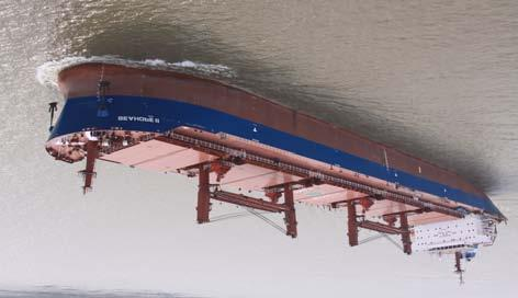 Bulk carriers Length over all abt. 189.98 m Length between perpendiculars 182.00 m Breadth (moulded) 32.26 m Depth (designed) 18.00 m Draft (designed) 11.80 m Draft (scantling) 12.