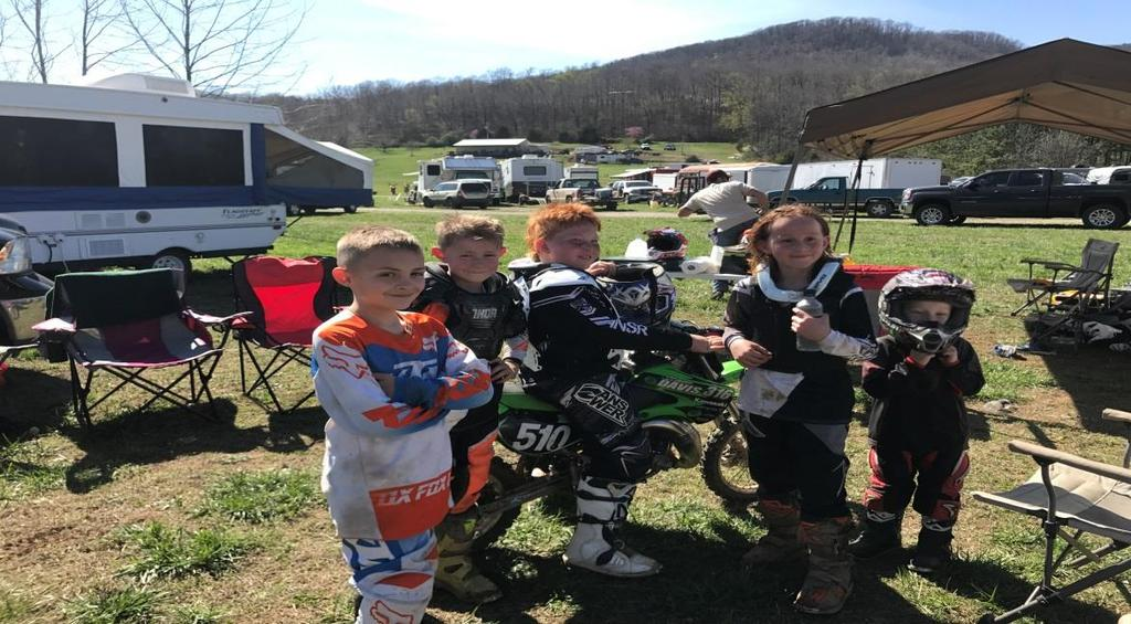 Unlike motocross the spectators stick around; these events are a two day affair for most. Practice is Saturday and the race starts Sunday Morning.