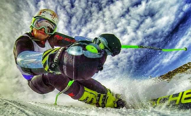 WPST COMPETITORS The debut event of the World Pro Ski Tour