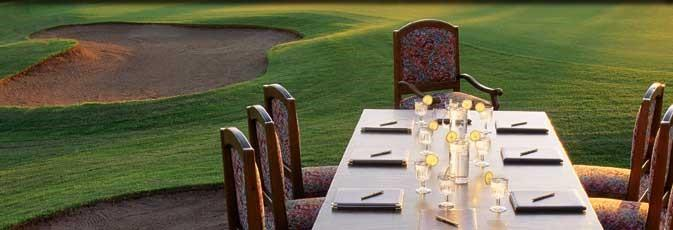 r Game r Event r Business r Swing Food and Beverage: Topping Off Your Day Of Hospitality A traditional part of a golf outing is to extend warm hospitality to your guests in the form of outstanding