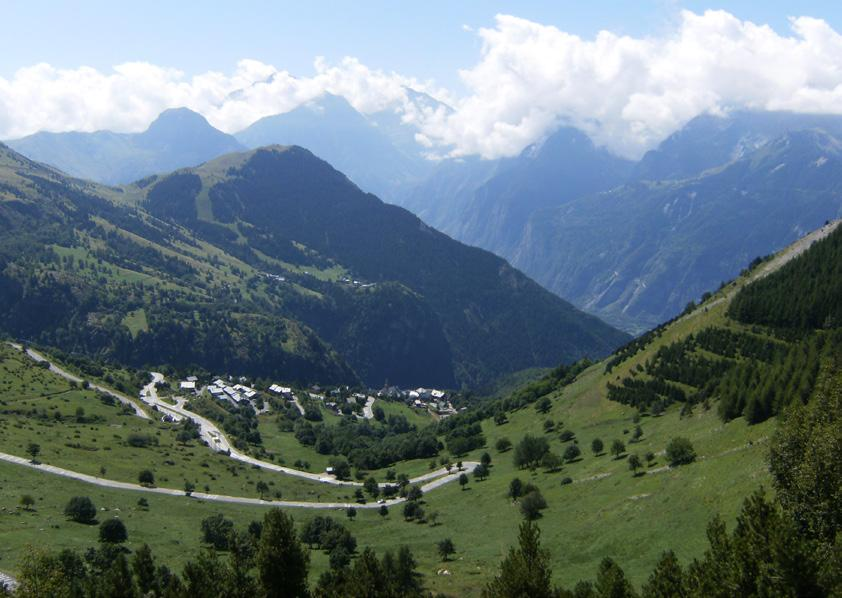 Summer The first thing to mention about summer in Alp d Huez is of course the Tour de France which provides stage 18 of the worlds most famous bike race.