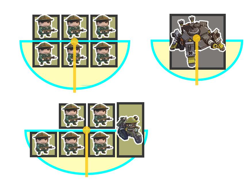 or making a pencil mark on the base of one of the squads front line units. If that unit is killed make sure to re mark the squad is some way.