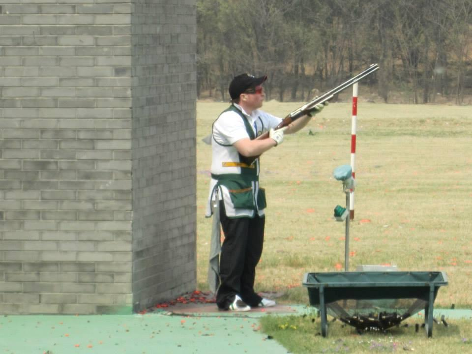 OLYMPIC SKEET Gun down Some shooters say it is boring they know where the Clay will go Hence the need for the shooter to decide on the objectives of the shooting program Provides an achievable reward