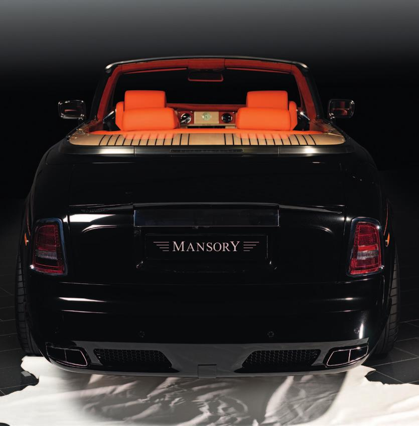 MANSORY retains the stylish design features of the production vehicle and, as such, the body styling kit seen on the grand boulevards of the world s most