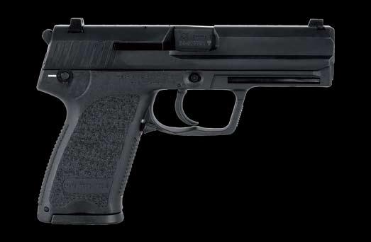 usp & USP Compact 9 mm x 19/.40 S&W/.45 ACP Military/Law Enforcement/Civilian The HK USP (Universal Self-loading Pistol) was the first Heckler & Koch pistol designed especially for American shooters.