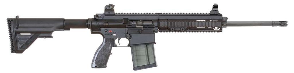 MR762A1 7.62 mm x 51 NATO Military/Law Enforcement/Civilian Like its 5.