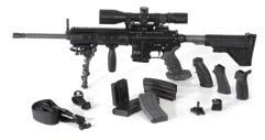 MR556A1 5.56 mm x 45 NATO Military/Law Enforcement/Civilian Like the HK416, the MR556A1 matches the performance and durability of its famous selective fire counterpart and is proven in all conditions.