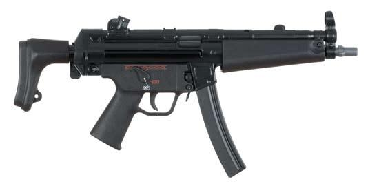 Firing from the closed-bolt position in all modes of fire make MP5 submachine guns extremely accurate and controllable.