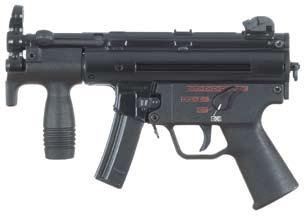 military and law enforcement users. Over 120 MP5 variants are available to address the widest range of tactical requirements.