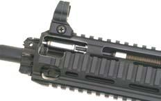 HK special buffer and buffer spring for ultareliable function Many HK416 models have full over-the-beach