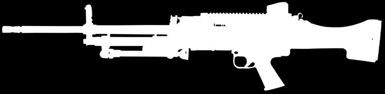 Machine guns 1,000 meter mechanical rear sight MG5/HK121 variants use a long stroke gas system with a rotating bolt head.