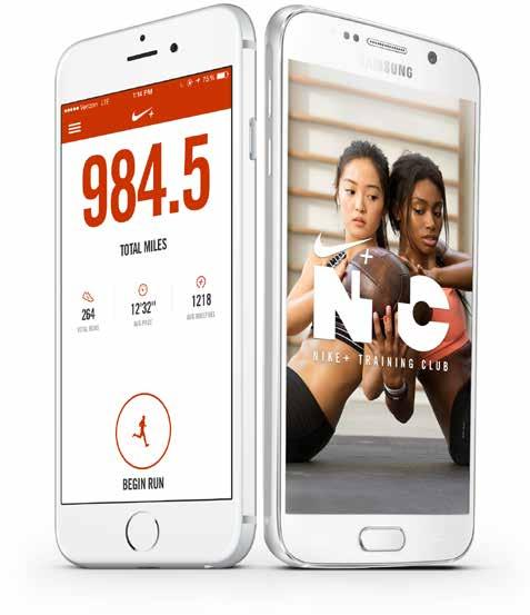 RUN SMARTER. TRAIN BETTER. NIKE+ RUNNING APP COME RUN WITH US. NTC APP YOUR PERSONAL TRAINER. DESIGNED BY NIKE. POWERED BY FRIENDS. Crush your training with the Nike+ Running App.