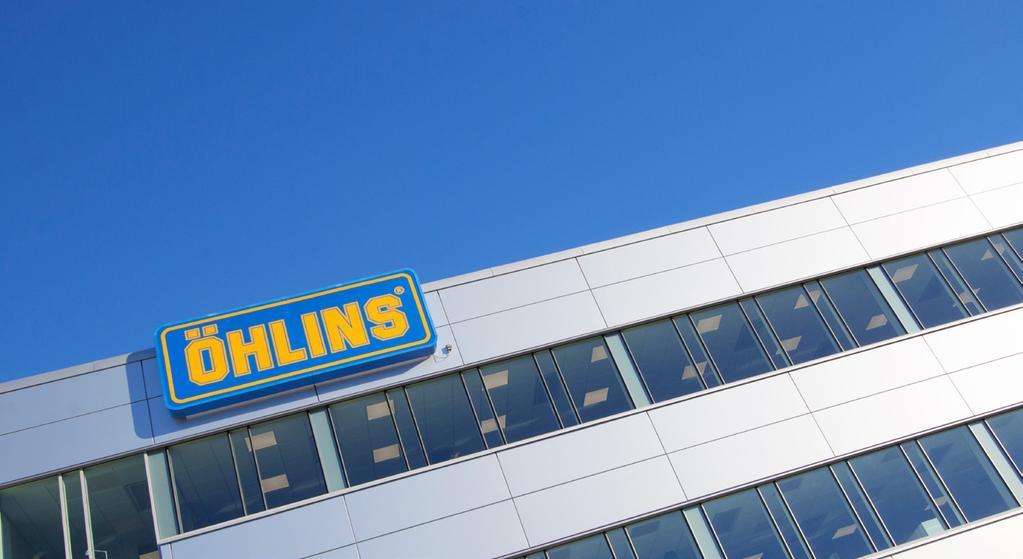 HISTORY HISTORY Ever since the company was founded in 1976, Öhlins has represented the very pinnacle of suspension technology and firmly rooted itself as an intricate part of the motorsport industry,