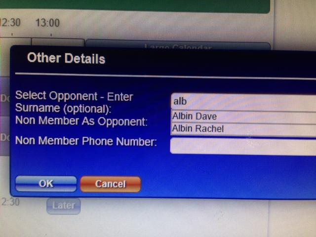 Once you have selected the opponent, confirm your