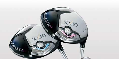 XXIO7 Ladies Irons Additional Features 1 Designed to get the ball airborne easily On the middle irons (#5-7), with which misshits are common, a tungsten neck is used to raise the