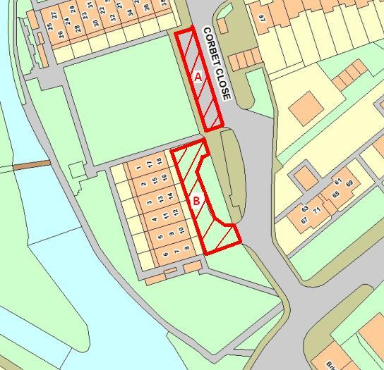 Parking restrictions and footpath closures From 4 th 31 st August there will be a number of temporary restrictions on the footpaths and parking areas in Corbett Close to allow the work to be safely